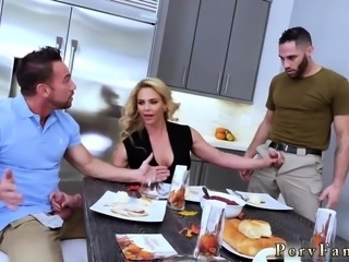 Priest and nun sex Army Boy Meets Busty Stepmom