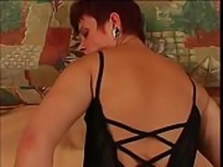 Horny slut gets her ass slammed
