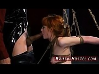 Rough anal fetish Soon after arriving at Hostel Bruno the Innkeeper