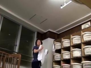 Delightful Japanese ladies get caught naked on hidden cam