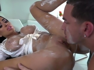 Victoria gets her sweet coochie sucked and drilled hard