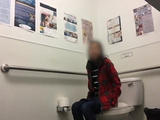 Cute Asian girl on toilet part 2