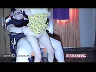 Me doy sentones en su verga y me explota el co&ntilde_o de leche Pareja32