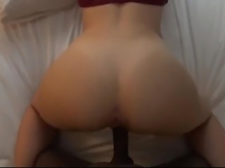 Juicy bubble butt loves BBC doggystyle