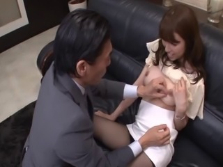 This Japanese girl sucks all her favorite students after class