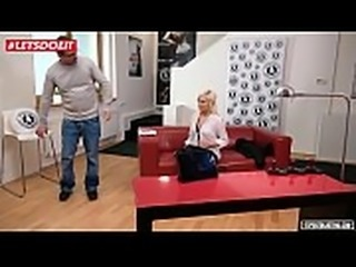 LETSDOEIT - Lucy Shine Got her Ass Drilled Hard at Casting