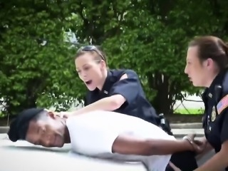 Police officers help with a robbery.