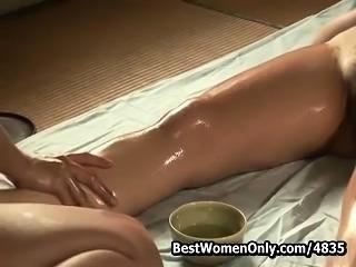 Japanese Lesbians Massage Amazing Women Body Voyeur