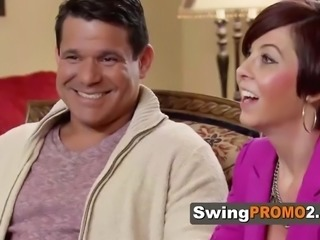 Amateur swingers opening up to the camera in national reality show. new...