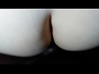 Amateur White wife bent over taking black cock deep in pussy