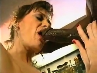 Vintage Interracial Blowjob And Doggy