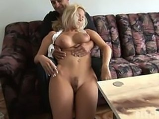 Submissive nude girl being fucked