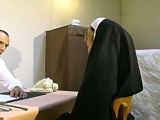 Most bizarre gyno exam. Kinky nun fucked with all kinda things.