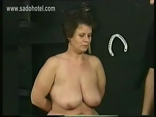 Old german dirty slave with big ass and large tits got hit w free