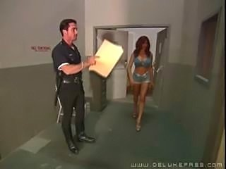 Sexy Raylene and the cops